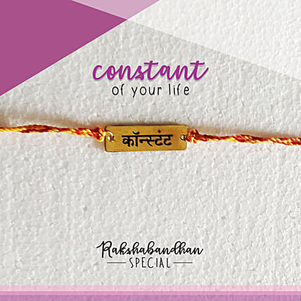 You Are My Constant Rakhi & Card: Rakhi Gifts to Noida