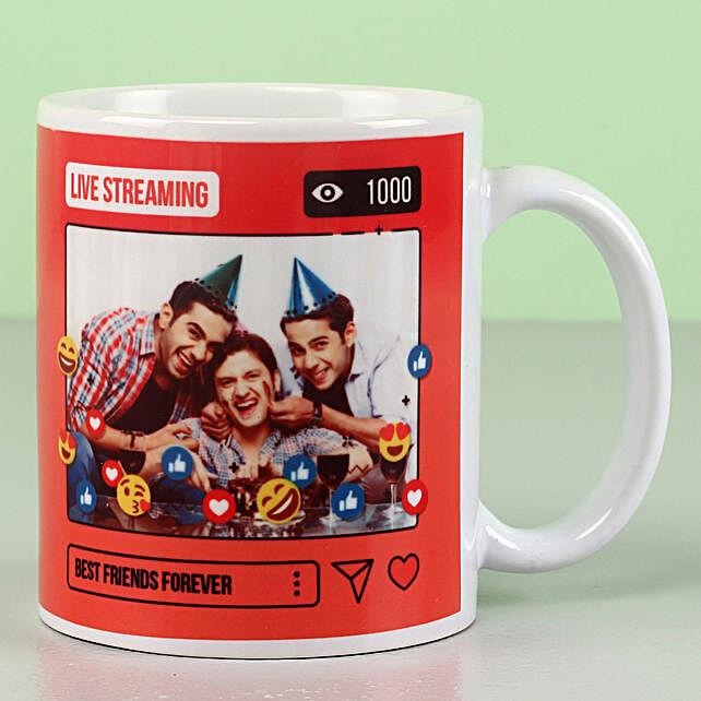 Personalised Best Friends Forever Mug: Personalised Mugs