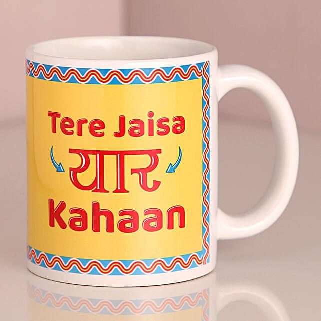 Tere Jaisa Yaar Kahaan Mug: Coffee Mugs