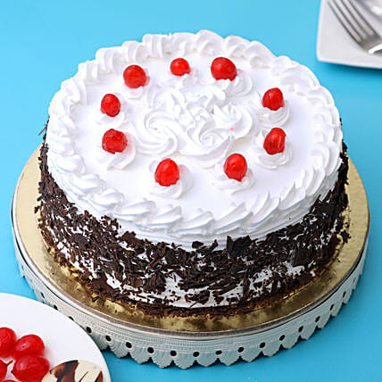 Cream & Cherry Black Forest Cake: Send Black Forest Cakes