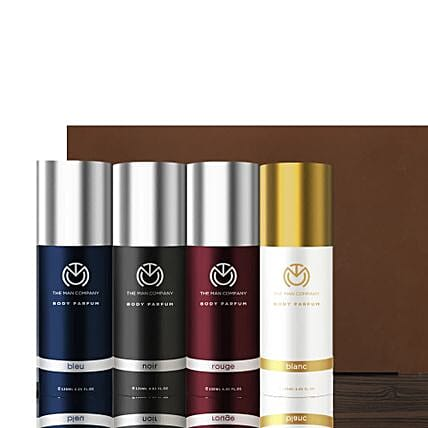 The Man Company Set of 4 Body Perfume: Wedding Gift Hampers