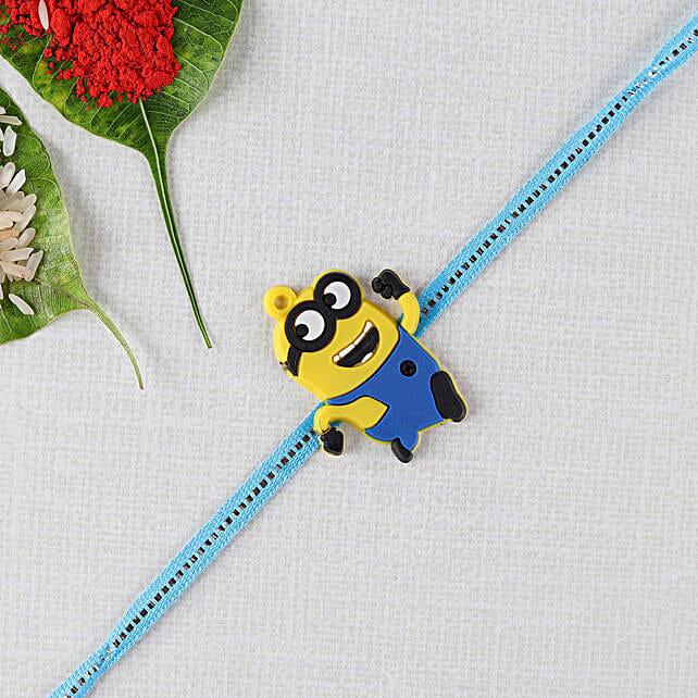 Trendy Minion Kids Rakhi: Rakhi / Raksha Bandhan Gifts