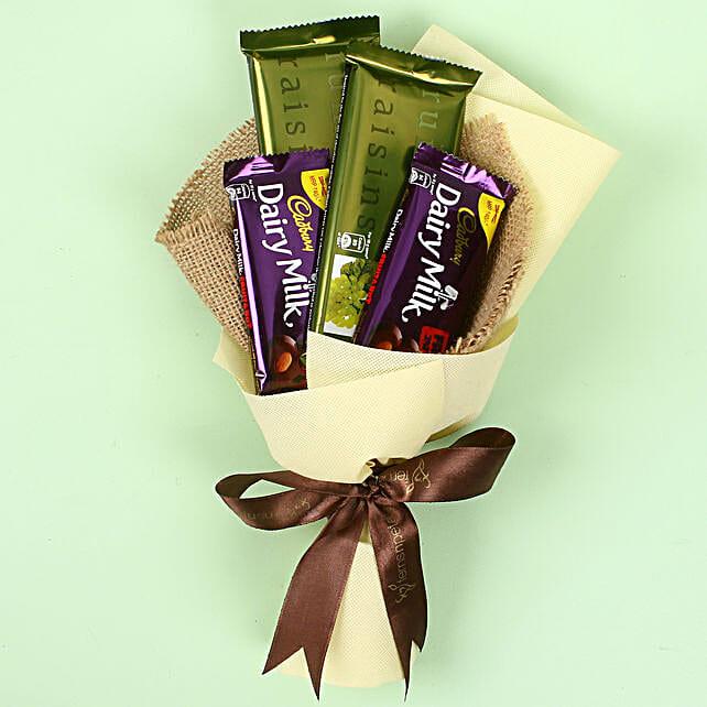 Cadbry Chocolate Bouquet: Send Chocolate Bouquet