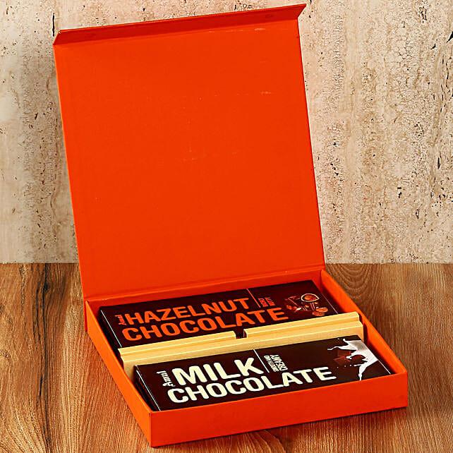 Orange FNP Box Of Amul Chocolates: Gifts for Hug Day