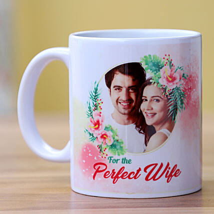 Perfect Wife Personalised Mug: Send Karwa Chauth Gifts