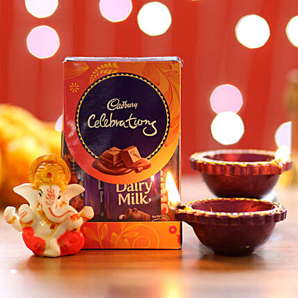 Cadbury Celebrations Diwali Pack: Diyas