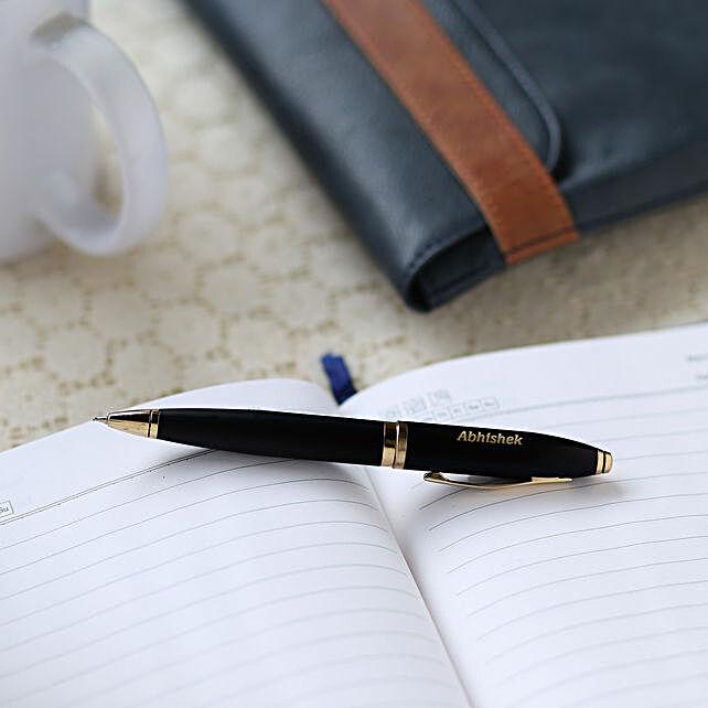 Personalised Rollerball Pen: Personalised Stationery
