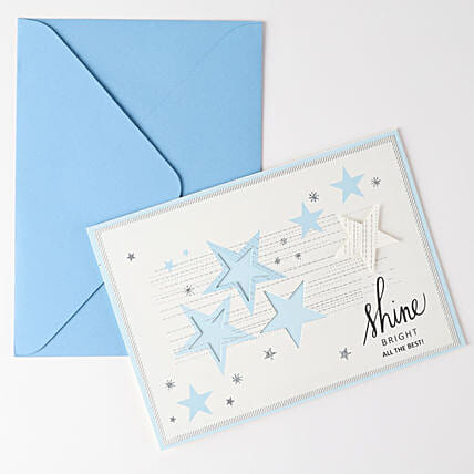 Starry All The Best Greetings: Greeting Cards