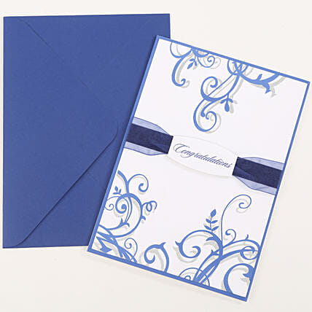 Congratulations Ribbon Greeting Card: Buy Greeting Cards