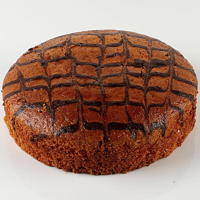 Choco Marble Dry Cake: Send Plum Cakes