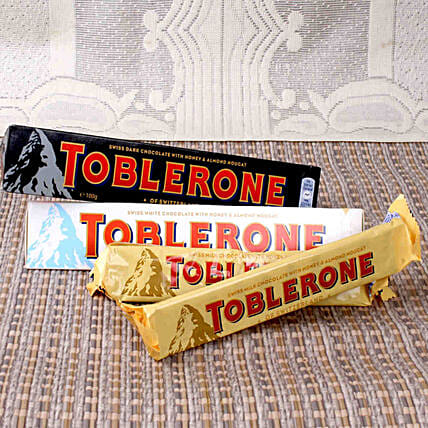 Swiss Chocolate Toblerone Treats: Gifts for Propose Day