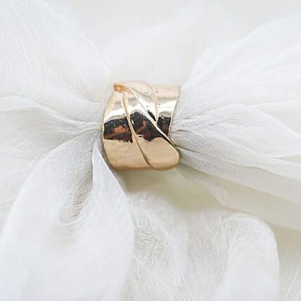 Designer Gold Plated Ring: Buy Rings