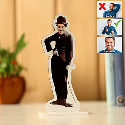 Personalised Charlie Chaplin Caricature: Caricatures