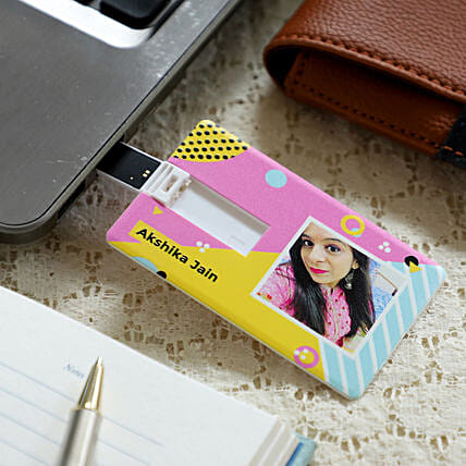Personalised Pen Drive- 16 GB: Personalised Gadgets