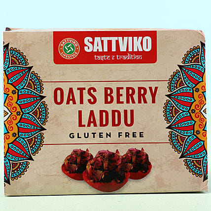 Oats Berry Laddu Box: Send Gifts for Dussehra