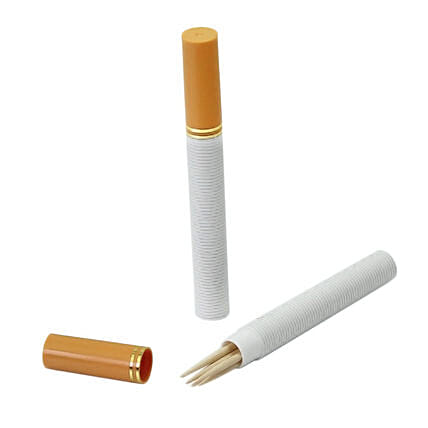 Cigarette Shaped Toothpick Holders: Funny Gifts
