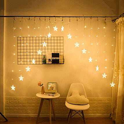 Star Curtain Lights String: Unusual Gifts