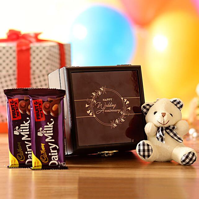 Anniversary Wishes Box: Send Soft Toys