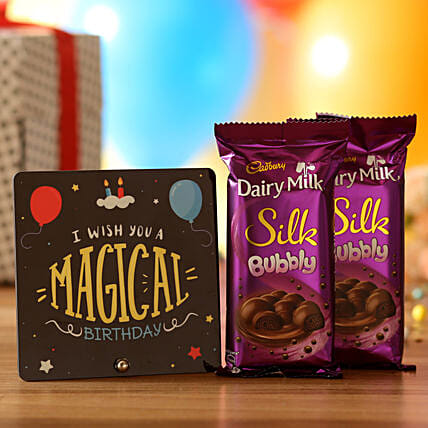 Magical Birthday Wishes: Chocolates Shopping India