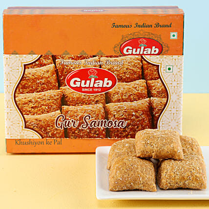 Gur Samosa Box: Buy Sweets
