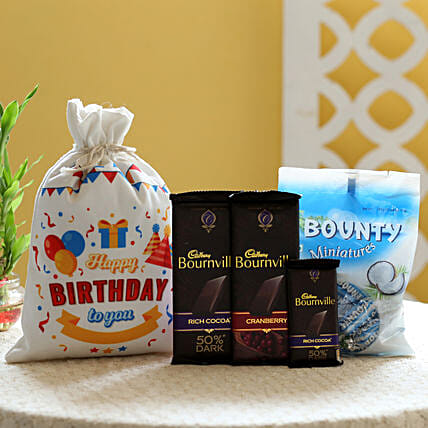 Bournville Birthday Wishes: Chocolates Shopping India