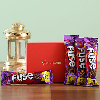 Fuse Chocolate Bar Box: Chocolates Shopping India