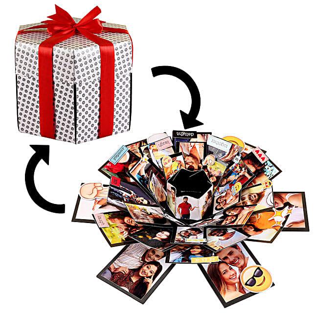 Beautiful Memories Explosion Box: Explosion Gift Box