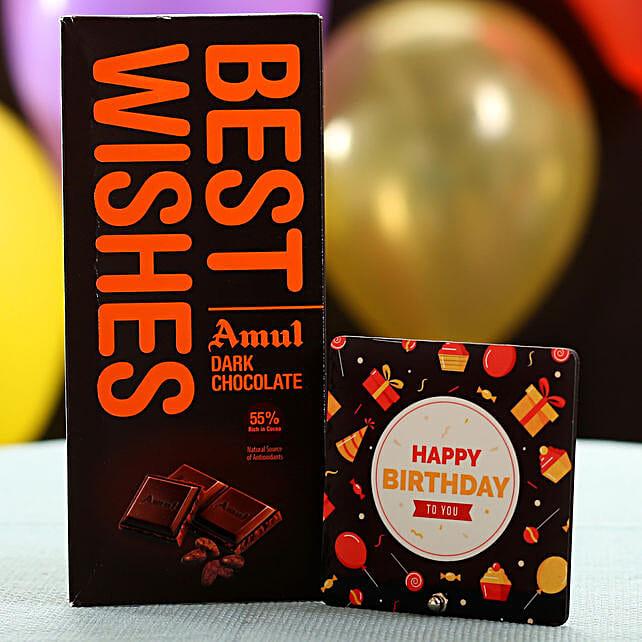 Best Wishes Chocolate On Birthday: Chocolates Shopping India