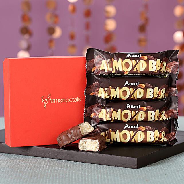 Amul Almond Bars Box: Send Gifts to Chhatarpur