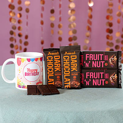 Birthday Wishes Flavourful Amul Chocolates: Send Gifts to Balrampur