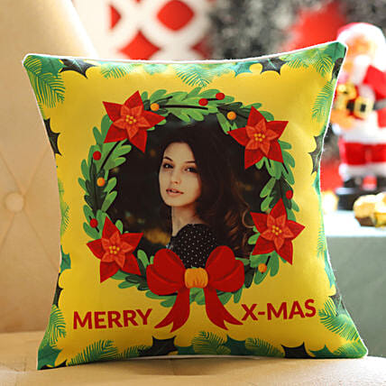 Personalised Christmas Wishes Cushion: All Christmas Gifts