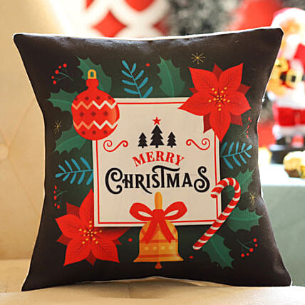 Christmas Greetings Cushion: Christmas Gifts For Family In India