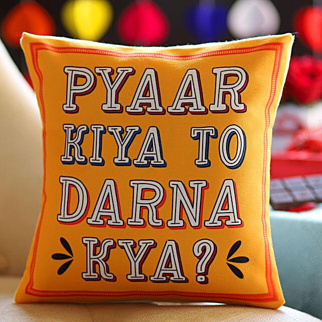 Pyaar Kiya Toh Darna Kya Cushion: Buy Cushions