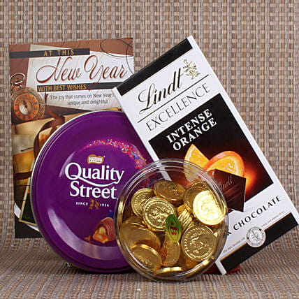 Best New Year Chocolate Treat: Gift Hampers