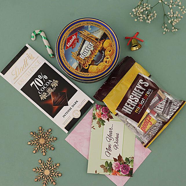 Chocolaty New Year Hamper:
