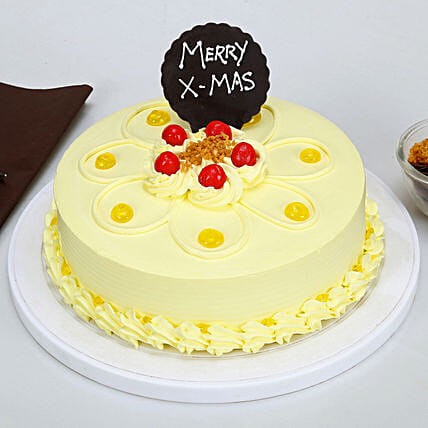 Xmas Butterscotch Cake: Send Christmas Gifts to Family
