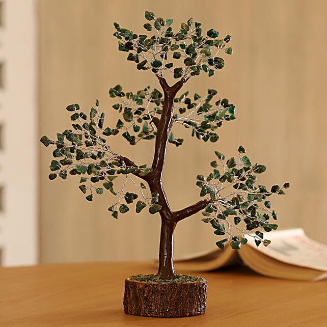 """Green Aventurine Gemstone Wishing Tree 11"""": Wish Trees"""