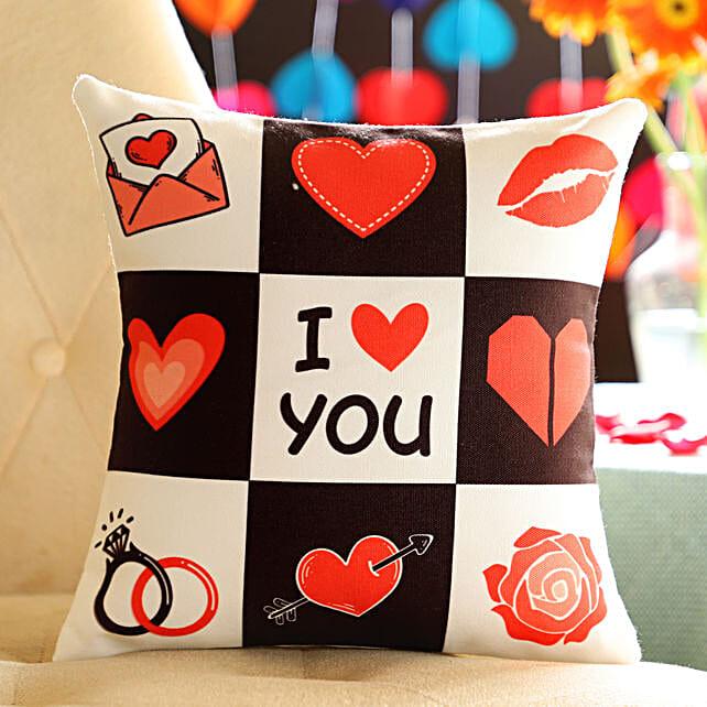 I Love You Cushion: Cushions