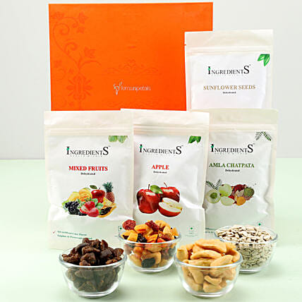 FNP Box Of Healthy Treats: Dry Fruits Gift Packs