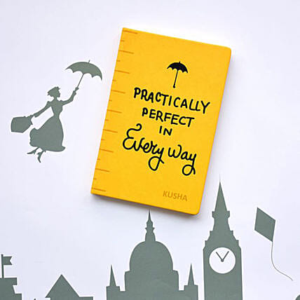 Marry Poppins Personalised Notebook: Personalised Stationery