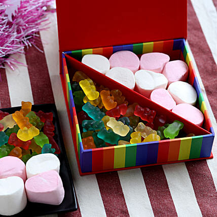 Marshmallow Candy Box- 200 gms: Candies