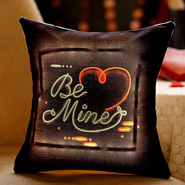 Be Mine Heart LED Cushion: Cushions