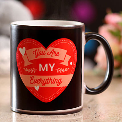 Special Message Magic Mug: Coffee Mugs
