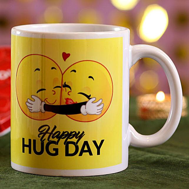 Happy Hug Day Mug: Buy Coffee Mugs