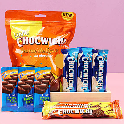 LuvIt Chocwich Treat: Karva Chauth Gifts India