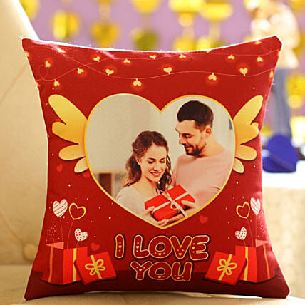 Cute Personalised Cushion for Your Sweetheart: Personalised Cushions