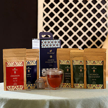 Detox Green Tea Infusions Hamper: