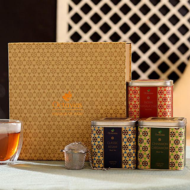 Heritage Tea Hamper: Send Womens Day Gift Hampers