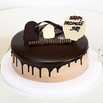 Promise Day Chocolate Cake: Send Promise Day Gifts