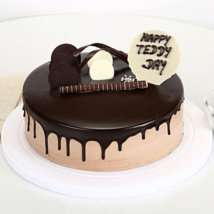 Teddy Day Chocolate Cake: Teddy Day Gifts
